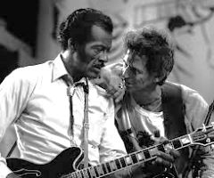Chuck Berry et Keith Richard