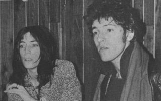 Bruce Springsteen et Patti Smith en 1978