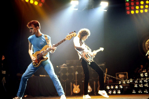 John Deacon et Brian May