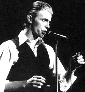 David Bowie dans sa période Thin White Duke