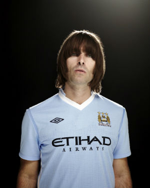 Liam Gallagher, supporter de Manchester City