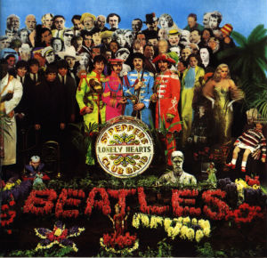 La pochette de l'album Sgt. Pepper des Beatles