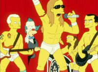 Les Red Hot Chili Peppers dans les Simpson