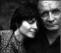 Johnny Cash et sa fille Rosanne Cash