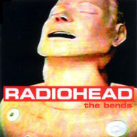 Pochette de The Bends, deuxieme album de Radiohead